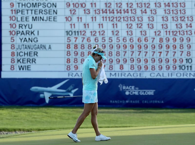 Lexi Thompson hit with 4-shot penalty at ANA
