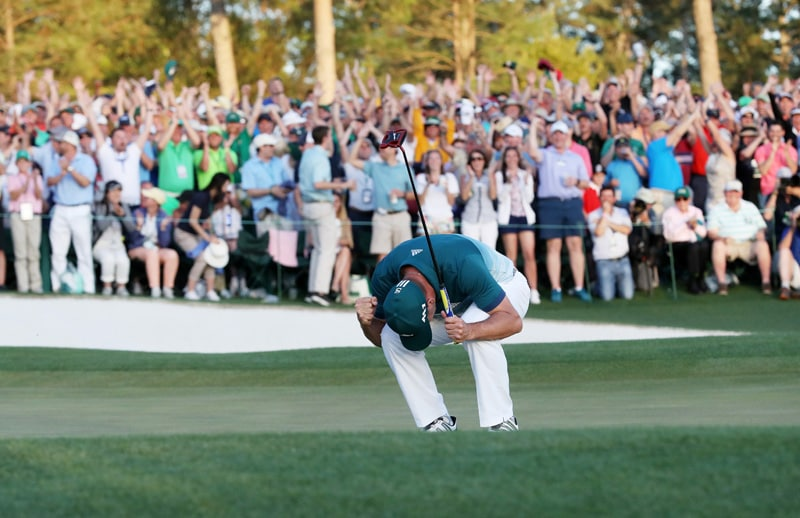 Sergio Garcia defeats Justin Rose in a playoff to win his first major