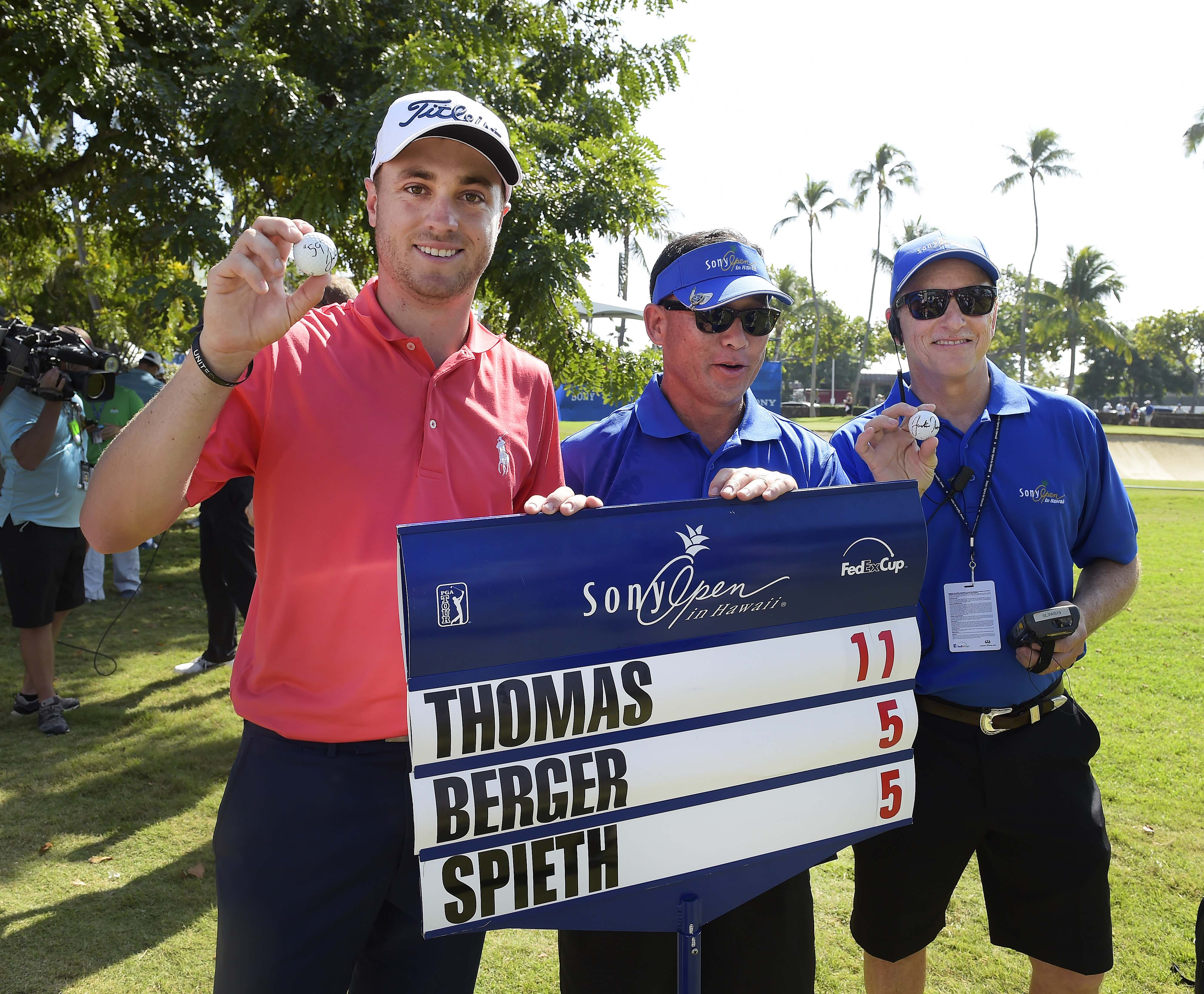 1. 2017: JT shoots 59, crushes field
