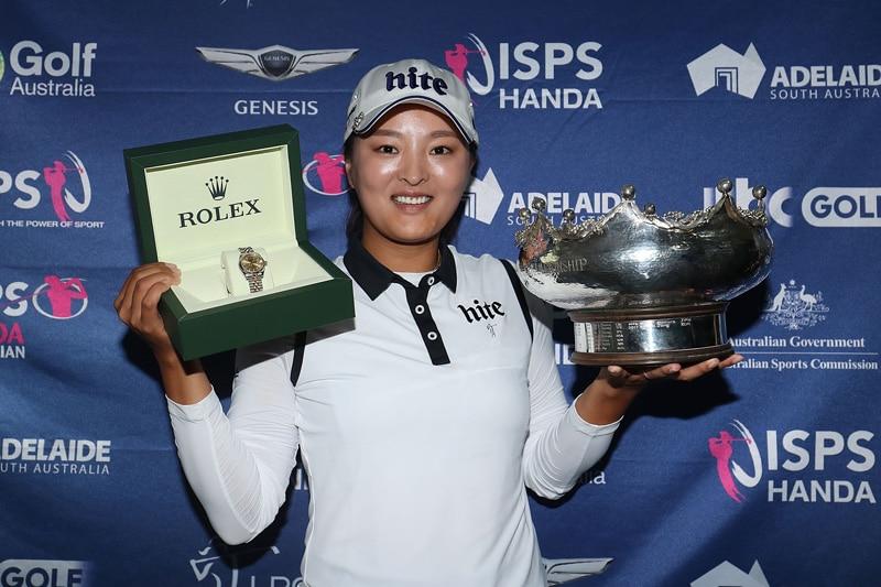ISPS Handa Women's Australian Open: Jin Young Ko