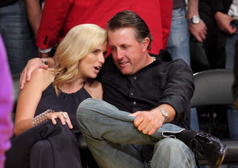 Phil and Amy Mickelson