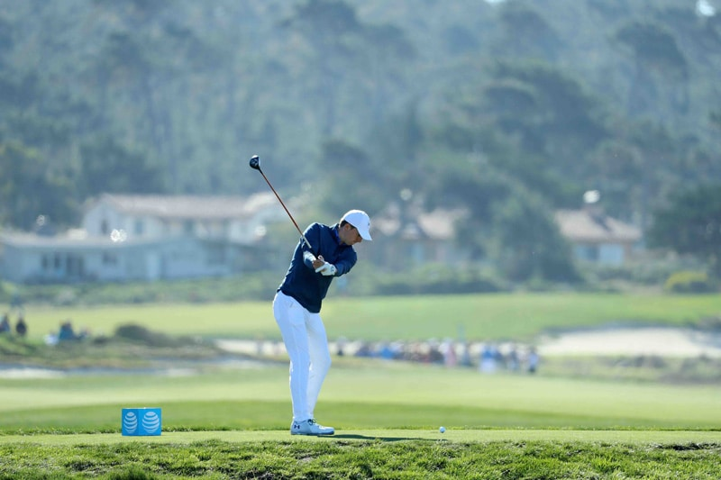 Spieth swing sequence, 2
