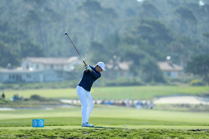 Spieth swing sequence, 3