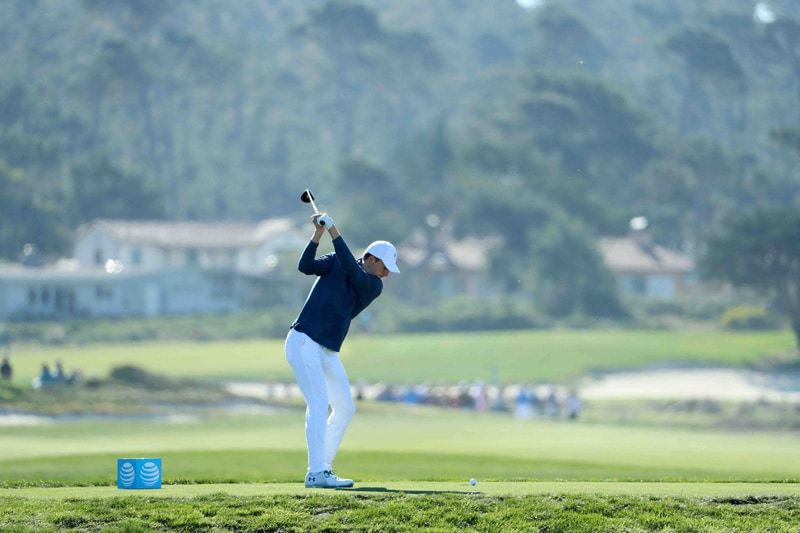 Spieth swing sequence, 4