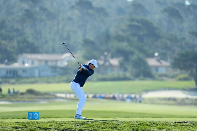 Spieth swing sequence, 5