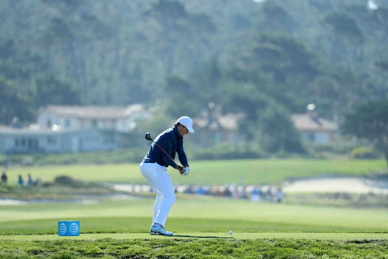 Spieth swing sequence, 6