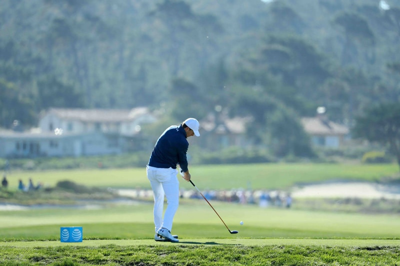 Spieth swing sequence, 7