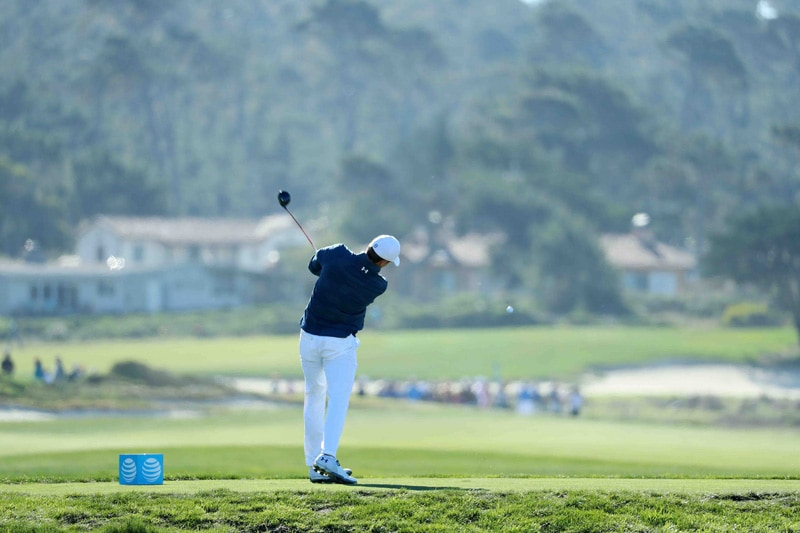 Spieth swing sequence, 8