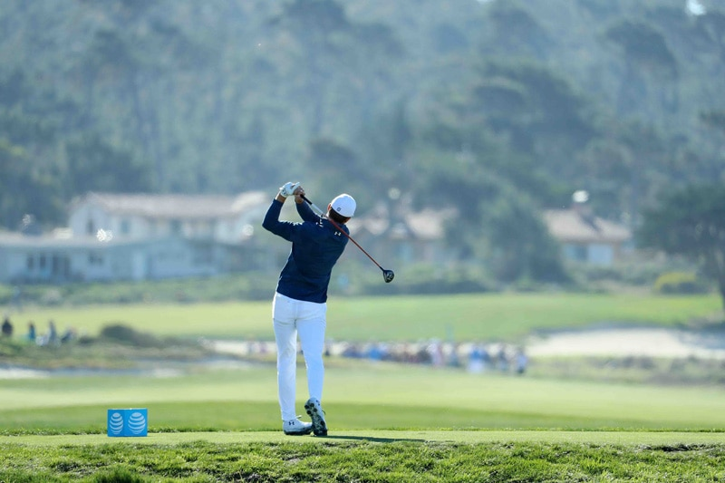 Spieth swing sequence, 9