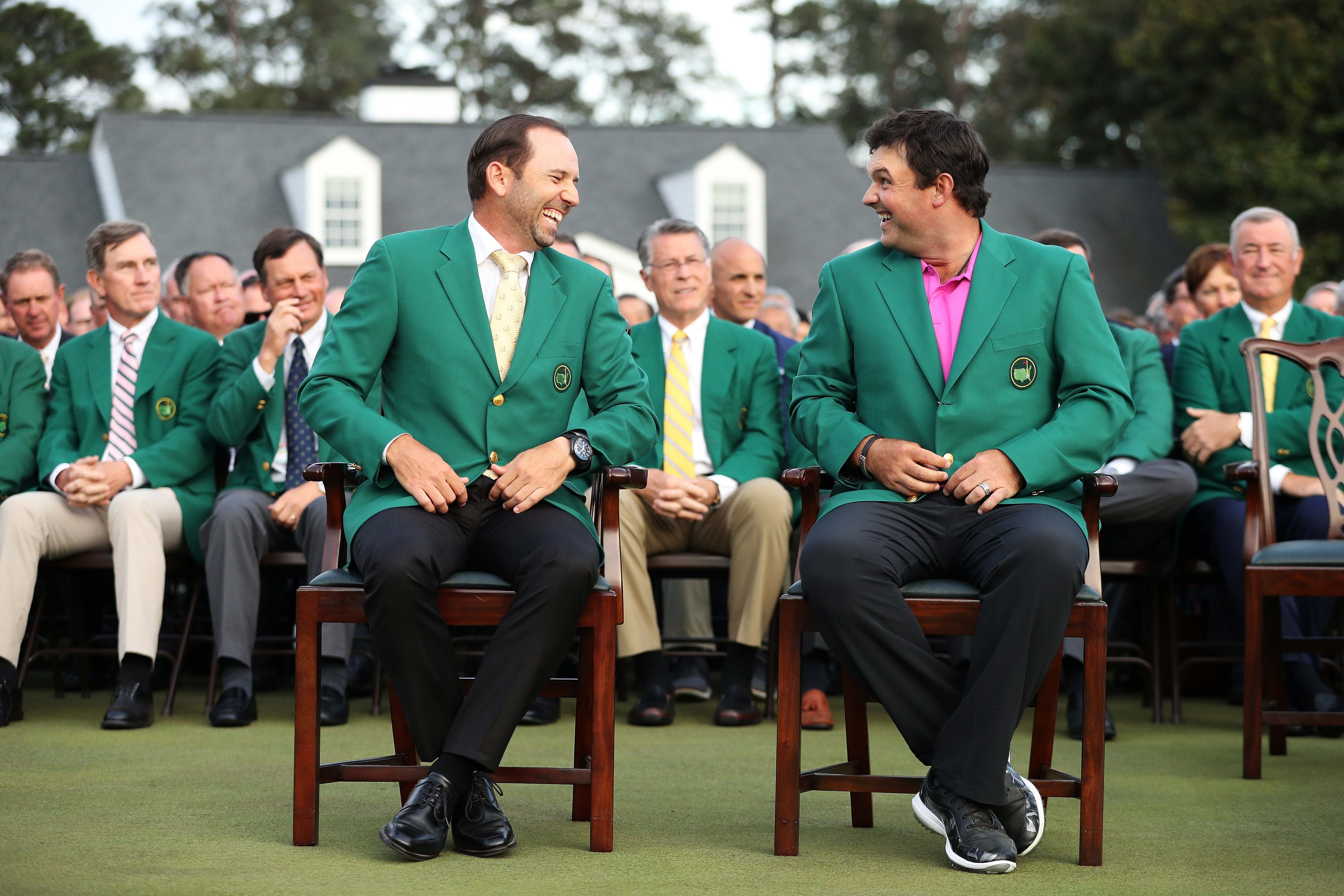 Patrick Reed and Sergio Garcia