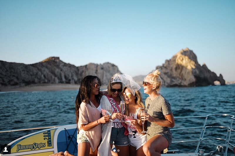 Chelsea Pezzola, Tisha Abrea, Nikki Bondura and Kenzie O'Connell