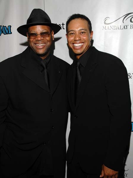 Jimmy Jam and Tiger Woods