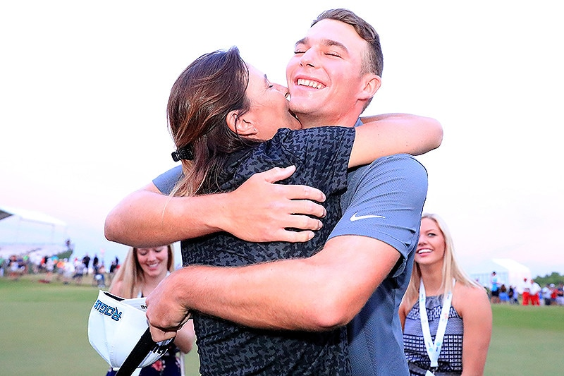 Aaron Wise and mother Karla Kane