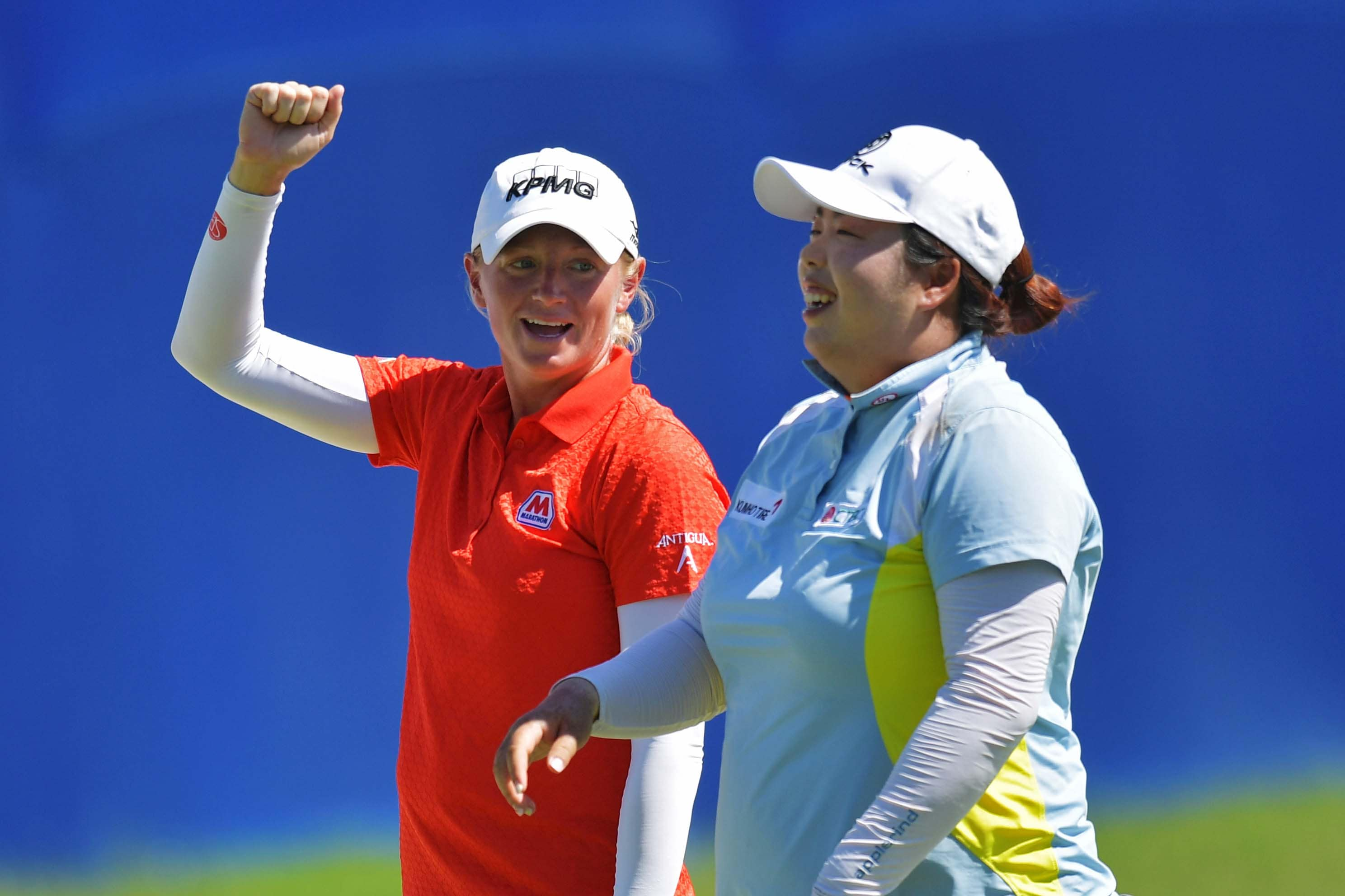 Stacy Lewis and Shanshan Feng