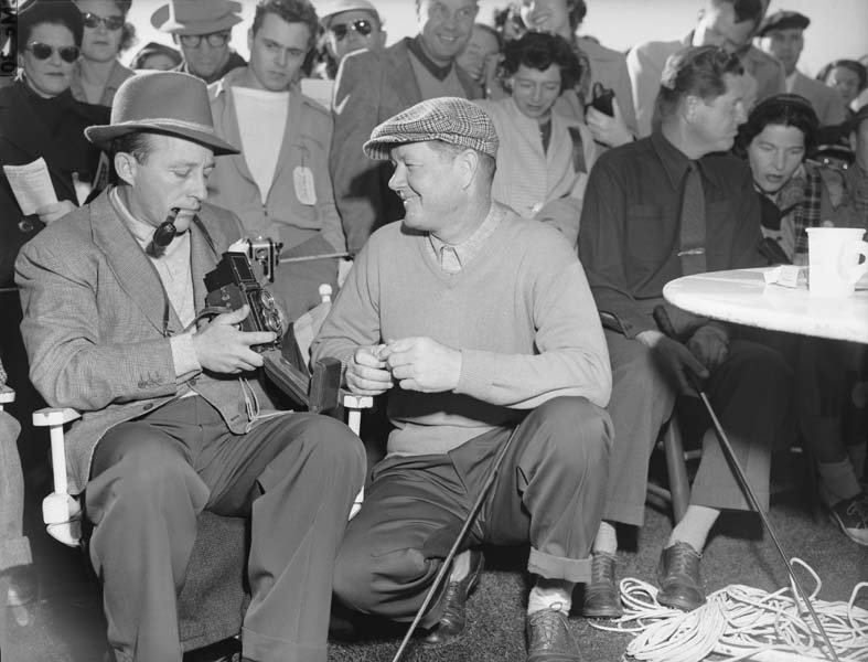 Bing Crosby and Byron Nelson