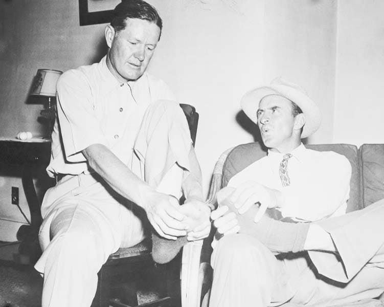 Byron Nelson and Sam Snead