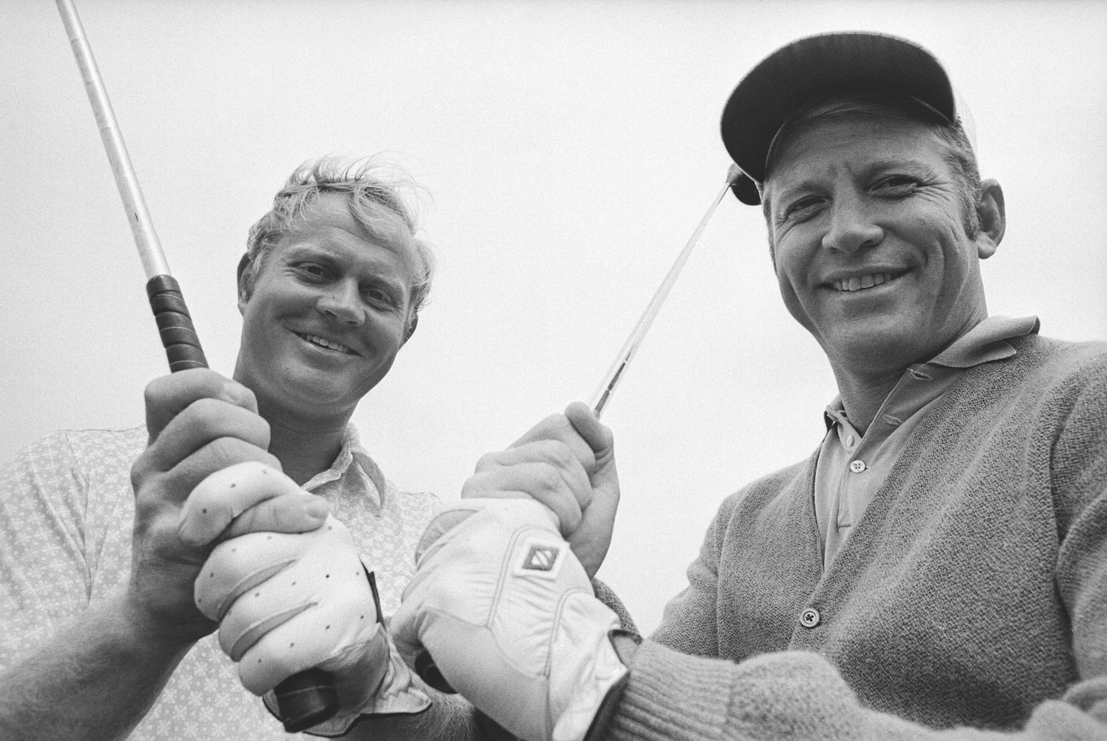 With Mickey Mantle