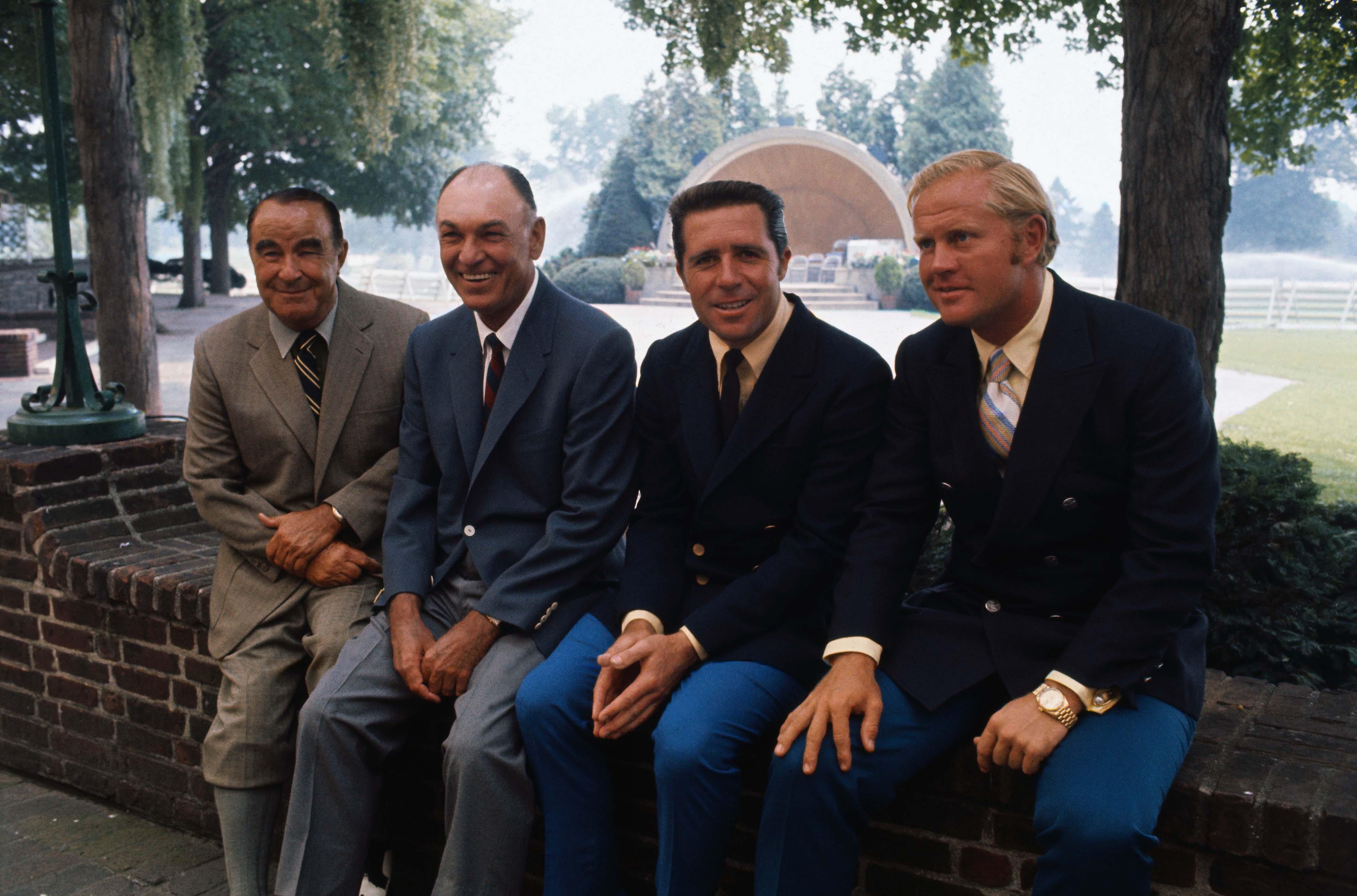 Career Grand Slam winners, Westchester, 1970