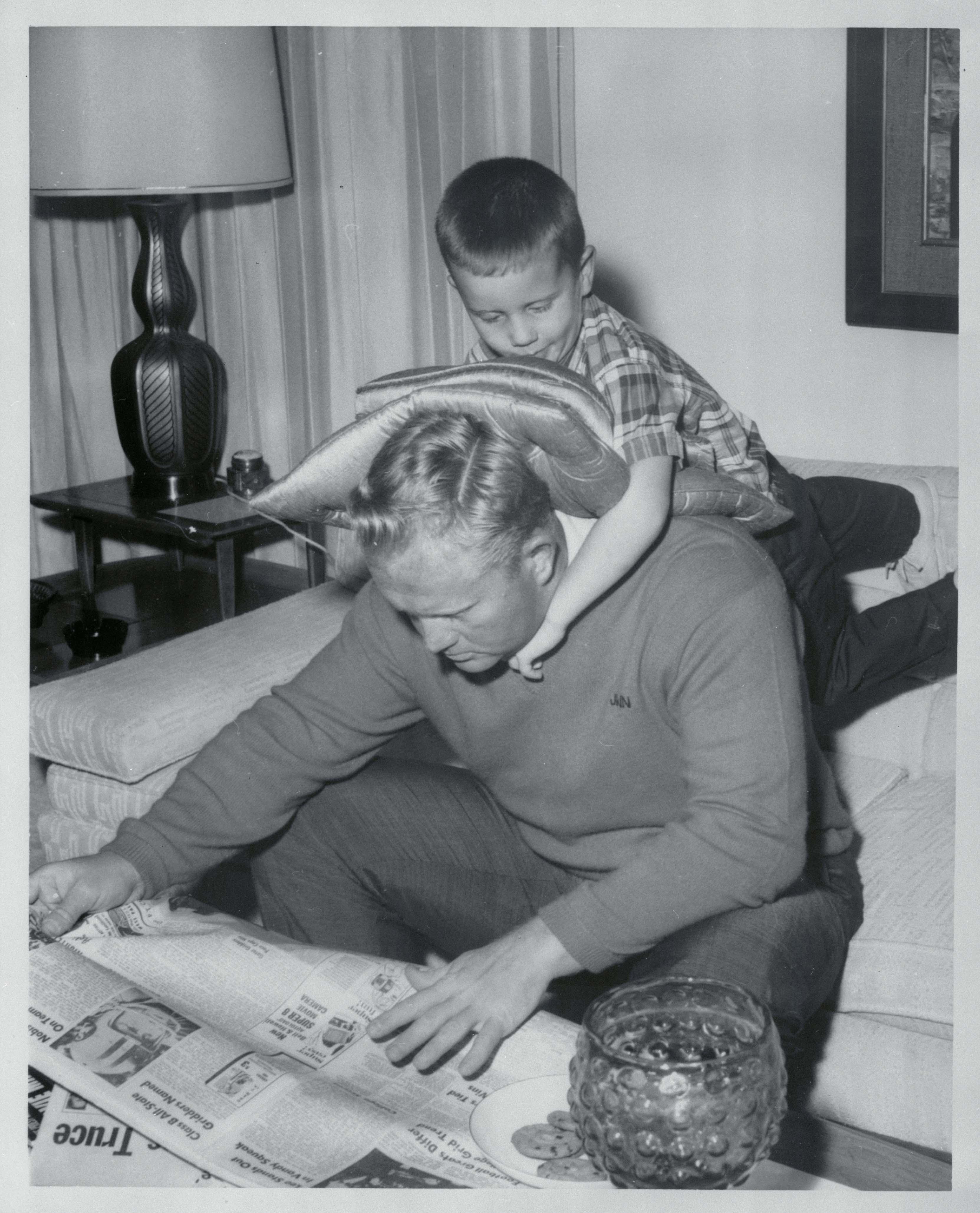 Being a dad, 1966
