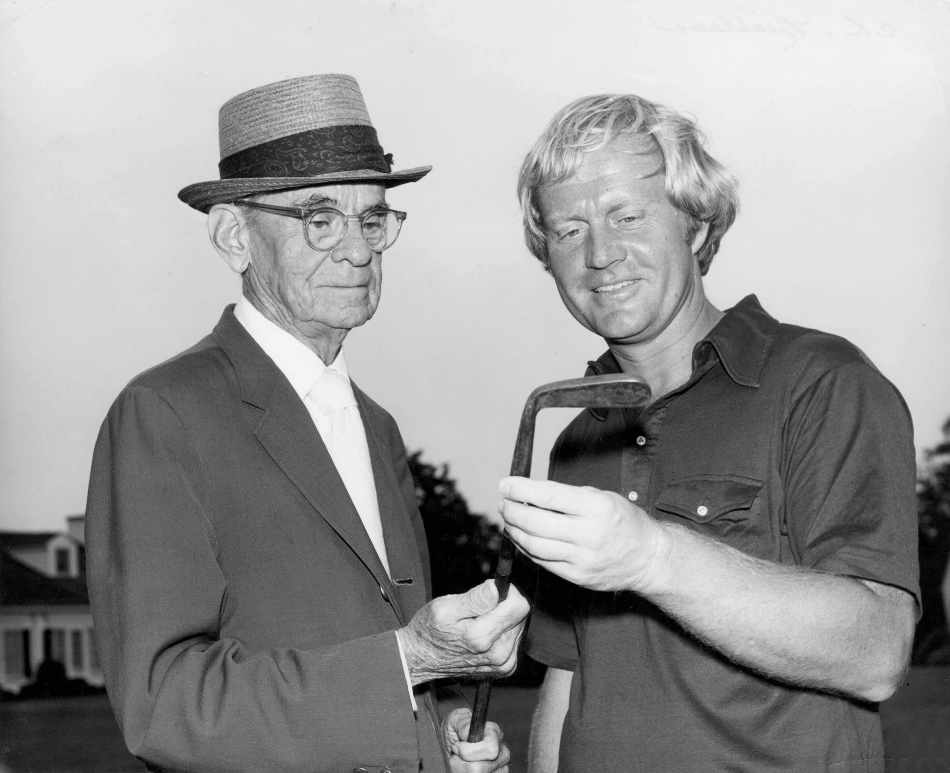 With Clifford Roberts, circa 1970
