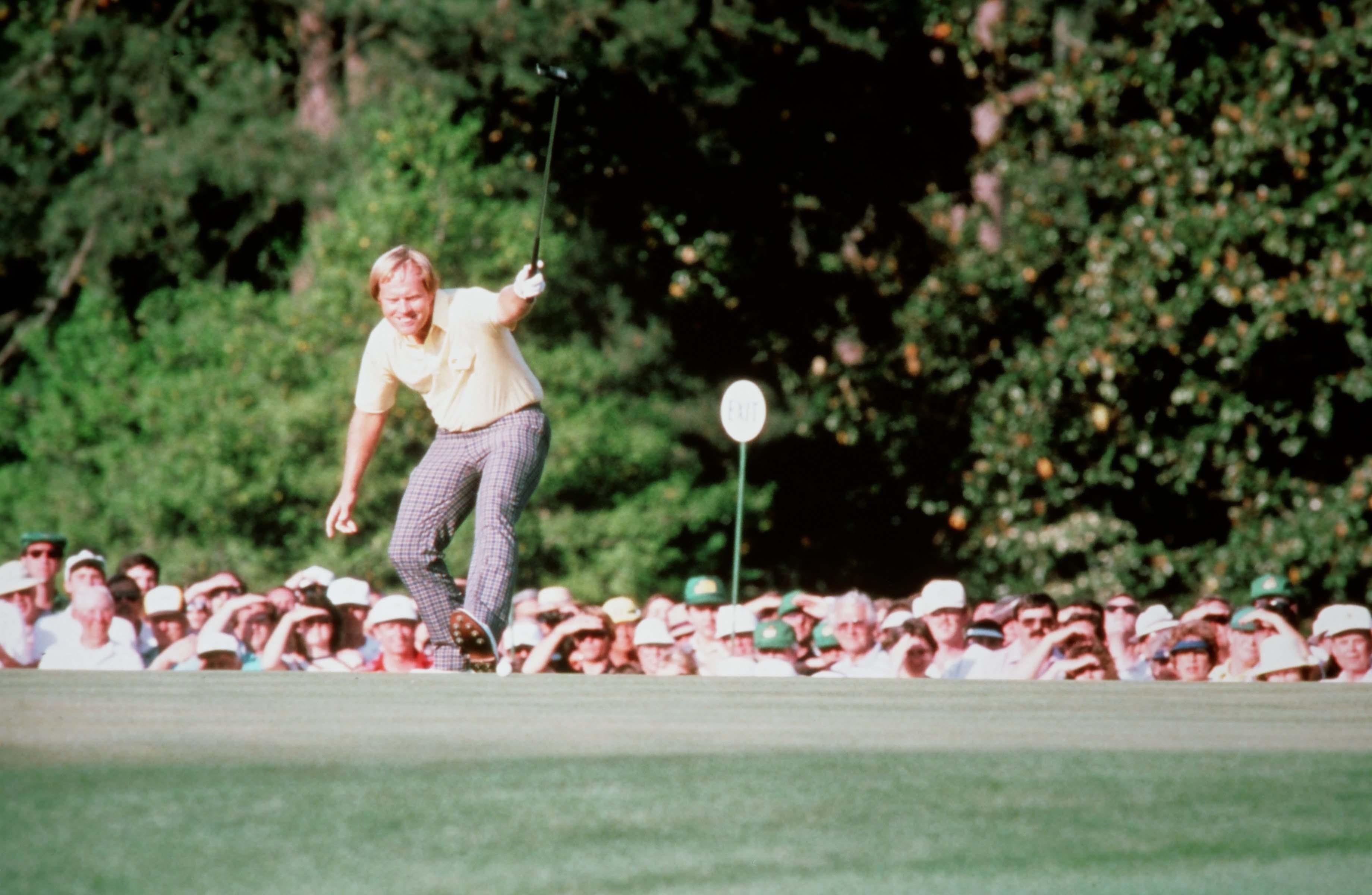 nicklaus jack masters 1986 sir yes golf getty pga master