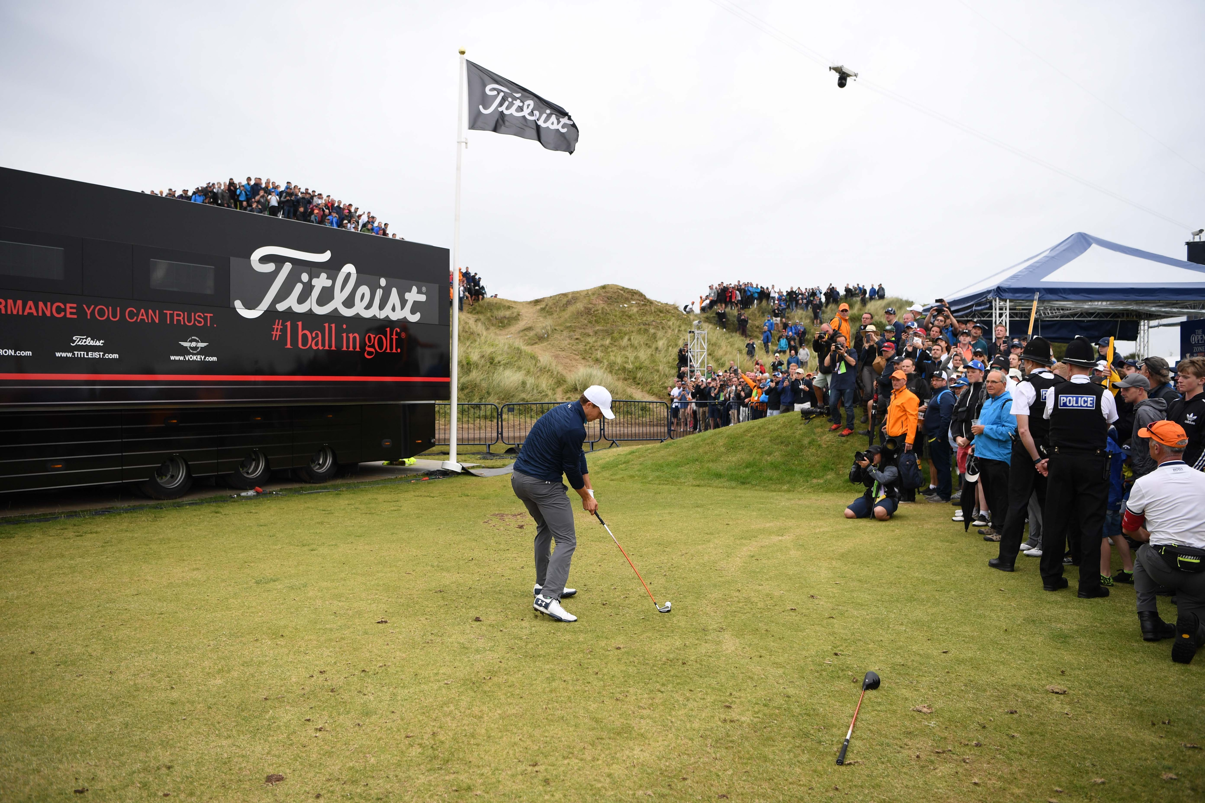 10. Spieth ranges far and wide