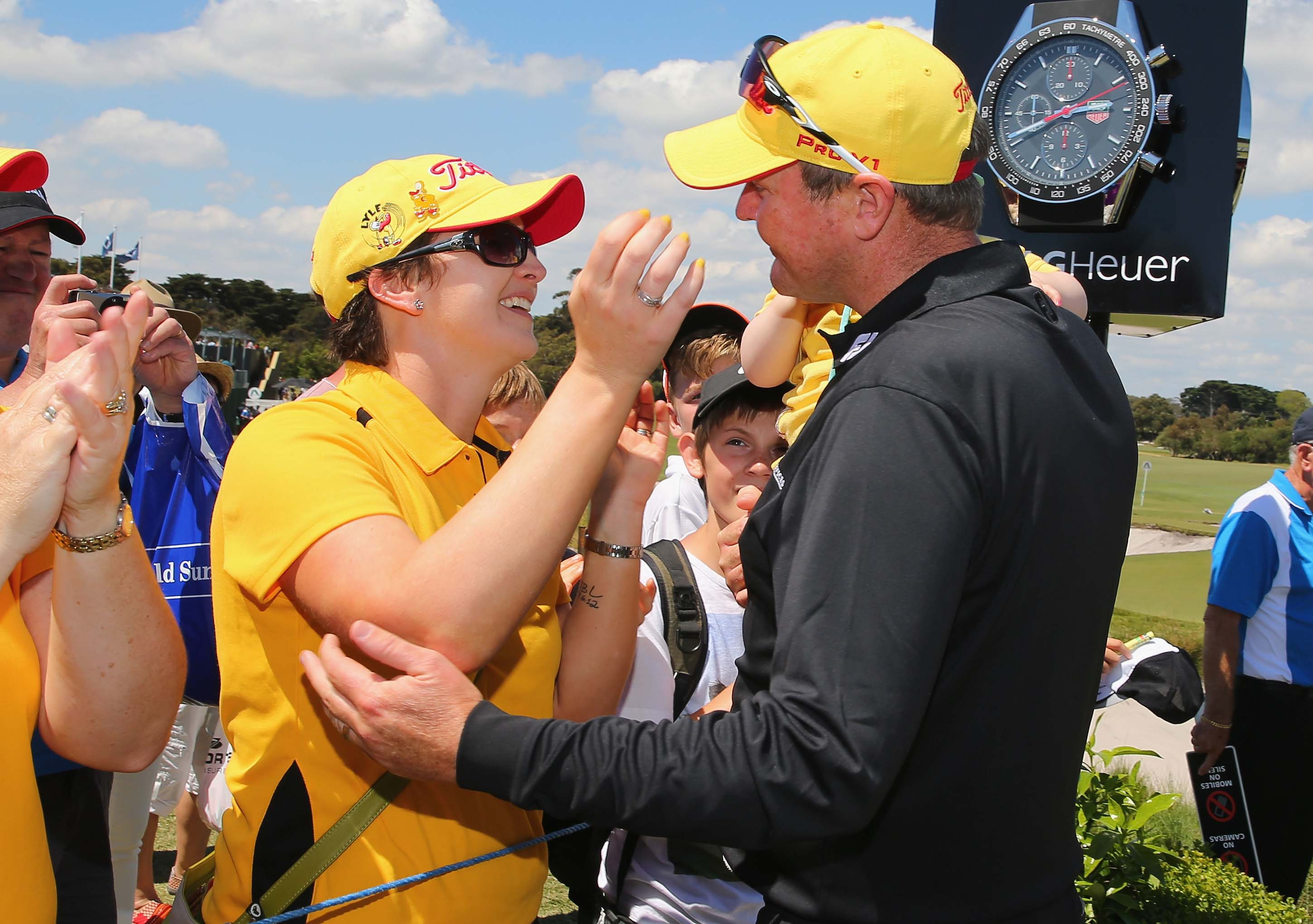 Briony, Lusi and Jarrod Lyle