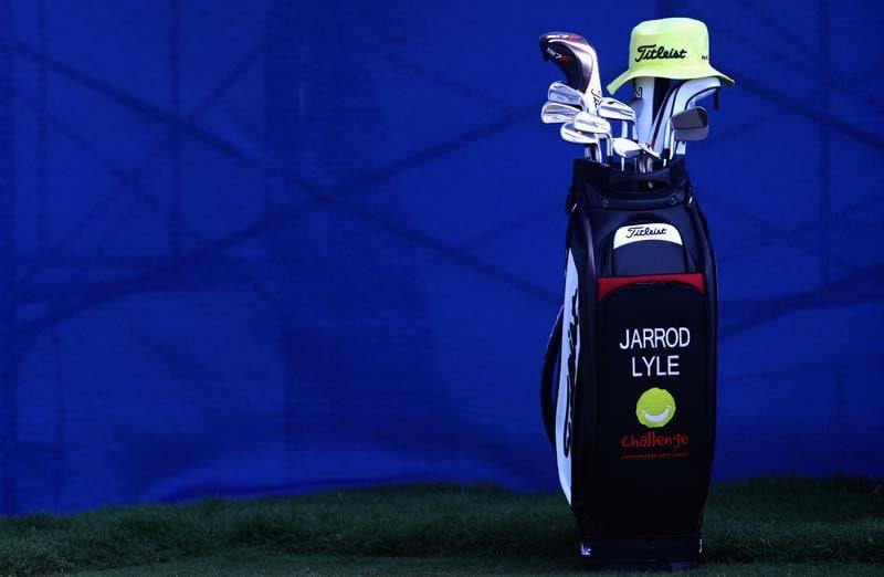 Jarrod Lyle's bag