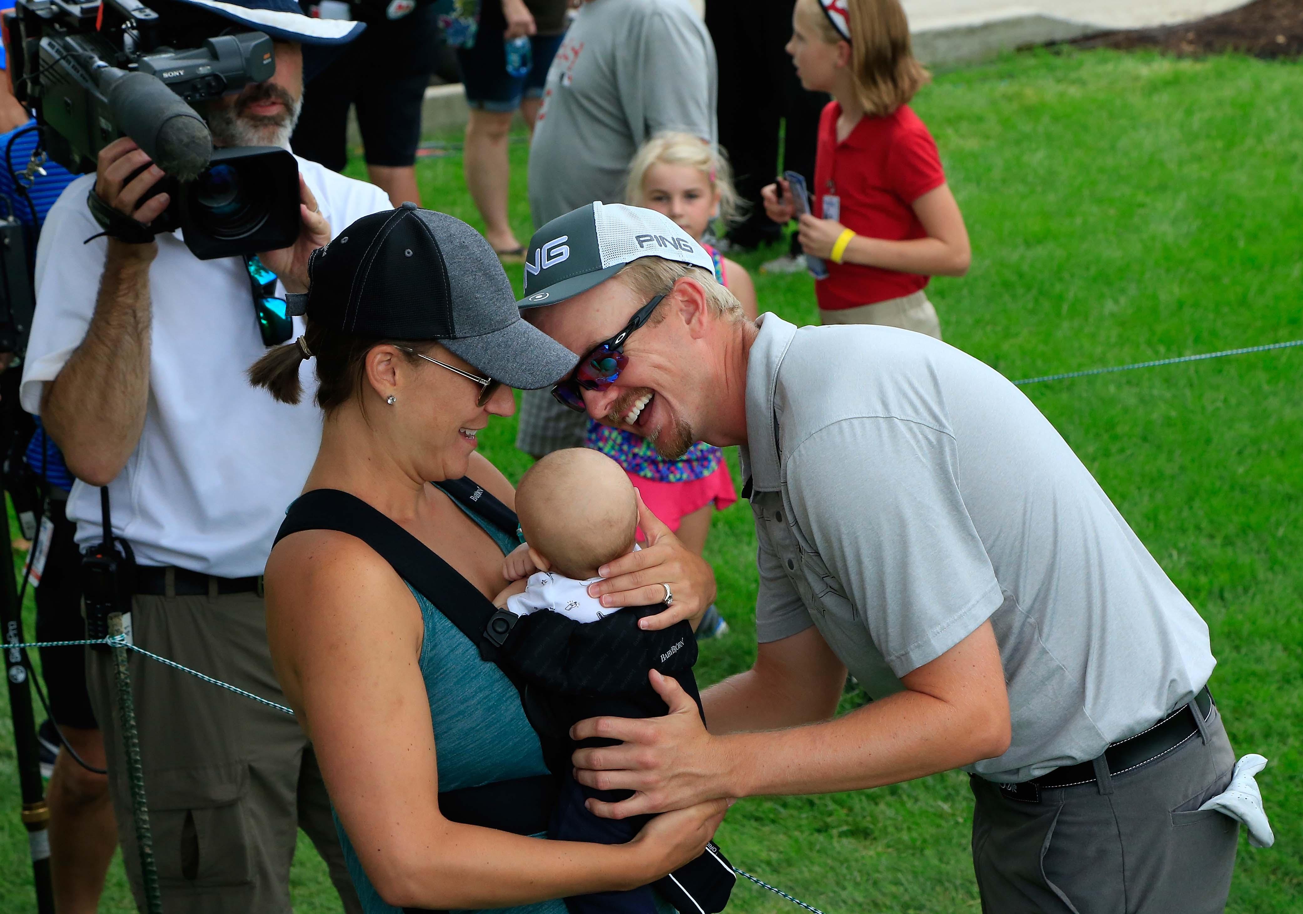 Jim, Heidi and Brady Knous
