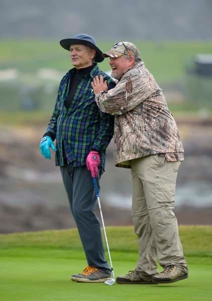 Bill Murray and Larry the Cable Guy