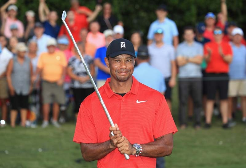 2018 Tour Championship: Tiger Woods