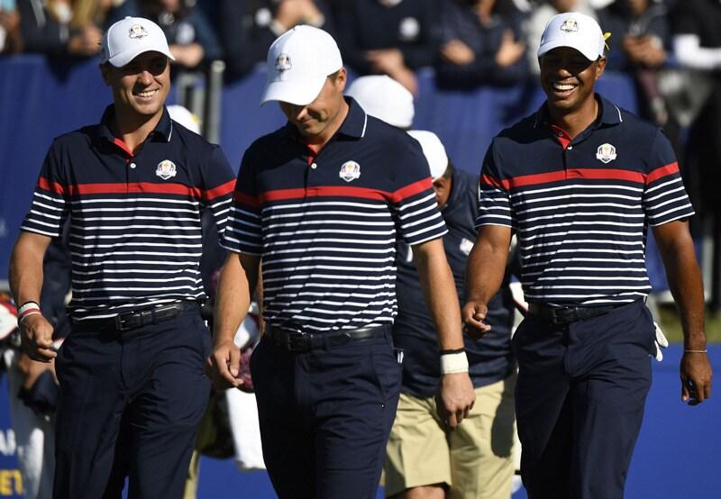 Justin Thomas, Jordan Spieth, Tiger Woods