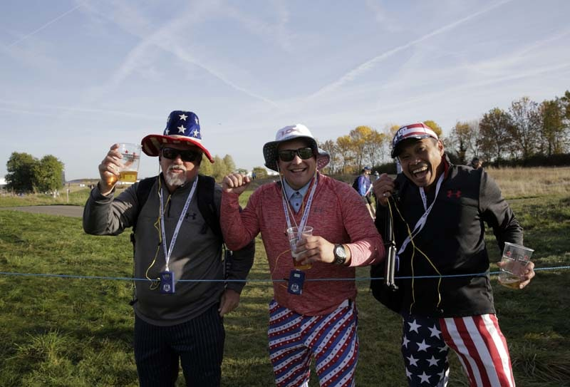 Fans at 2018 Ryder Cup