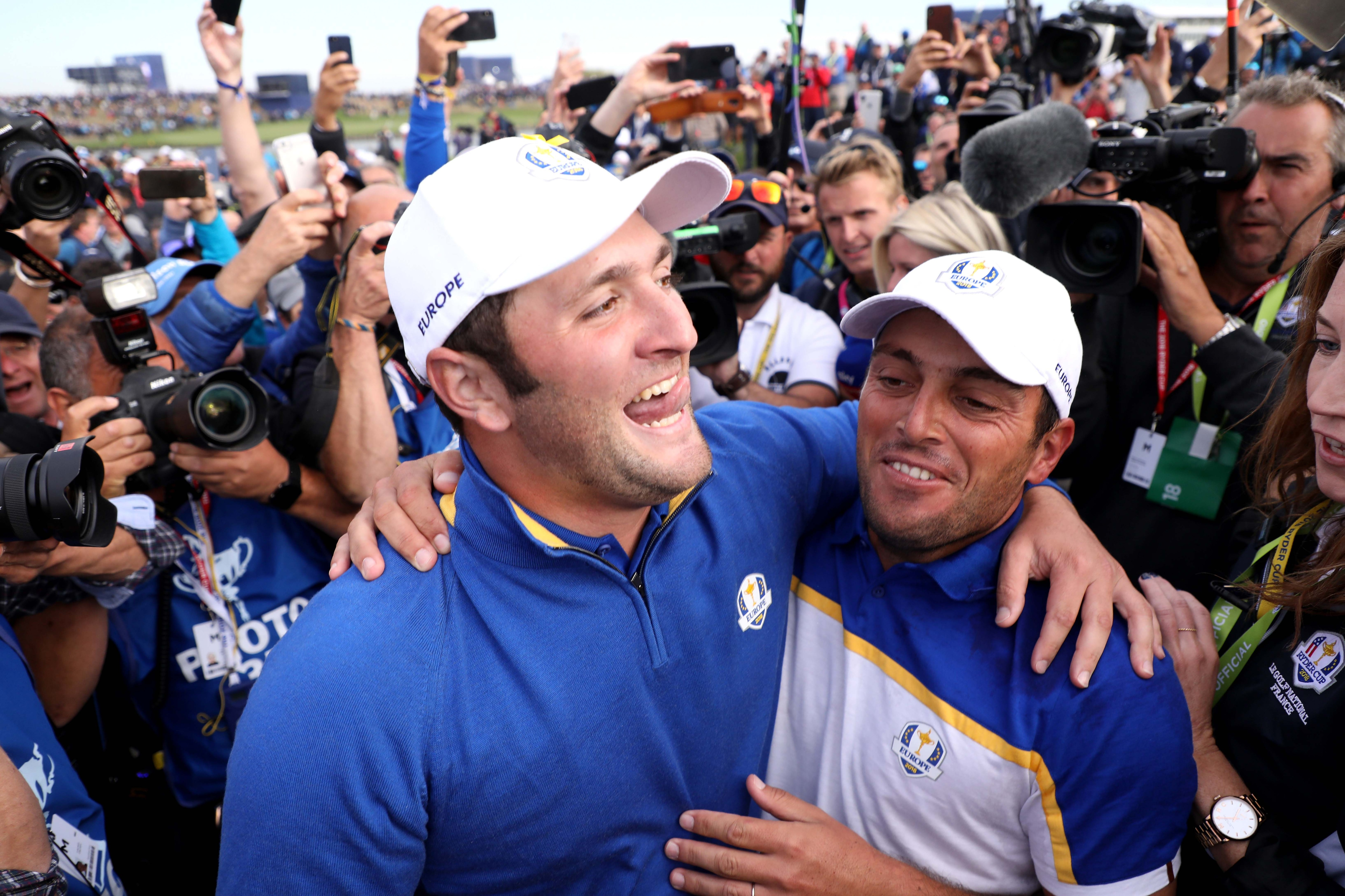 Jon Rahm and Francesco Molinari