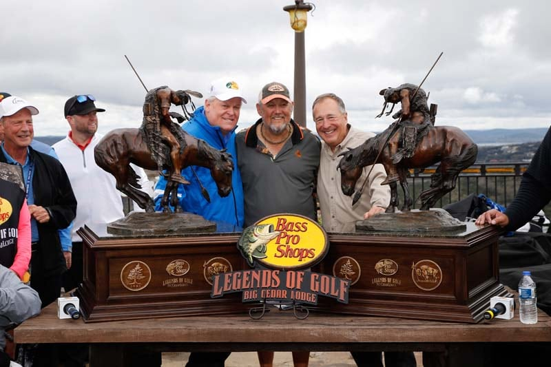 Johnny MIller, Larry the Cable Guy, Johnny Morris