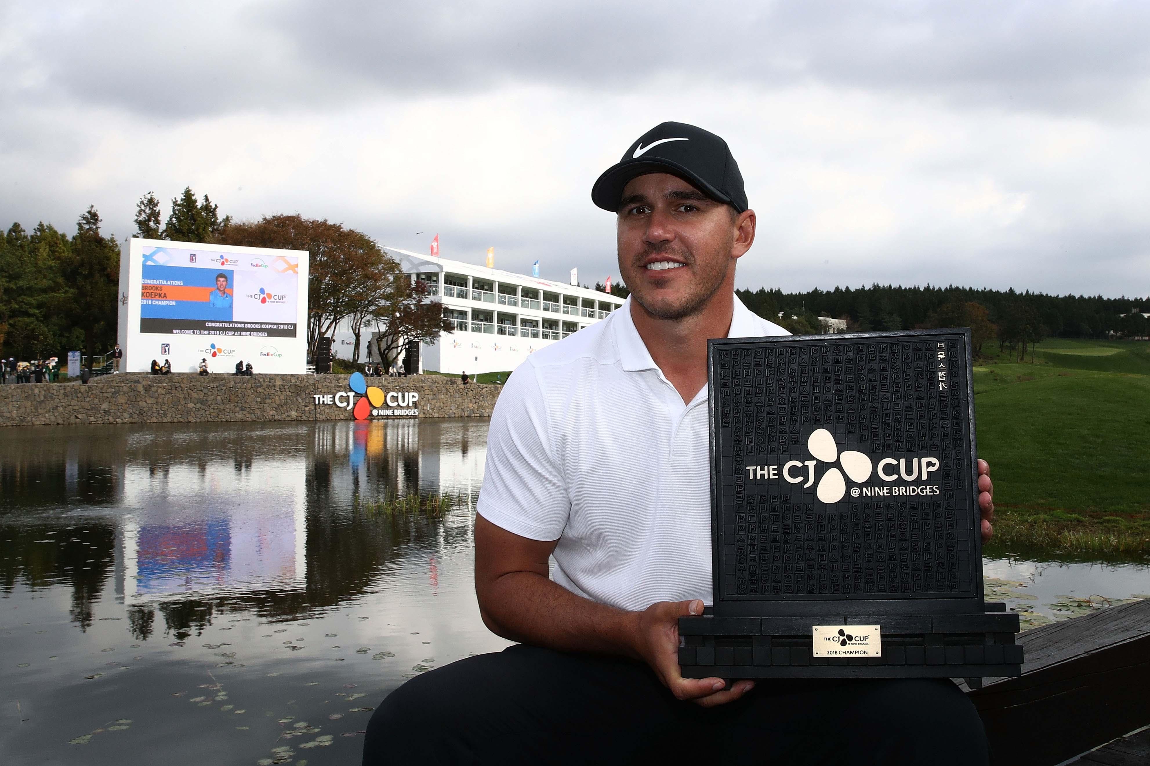 CJ Cup: Brooks Koepka