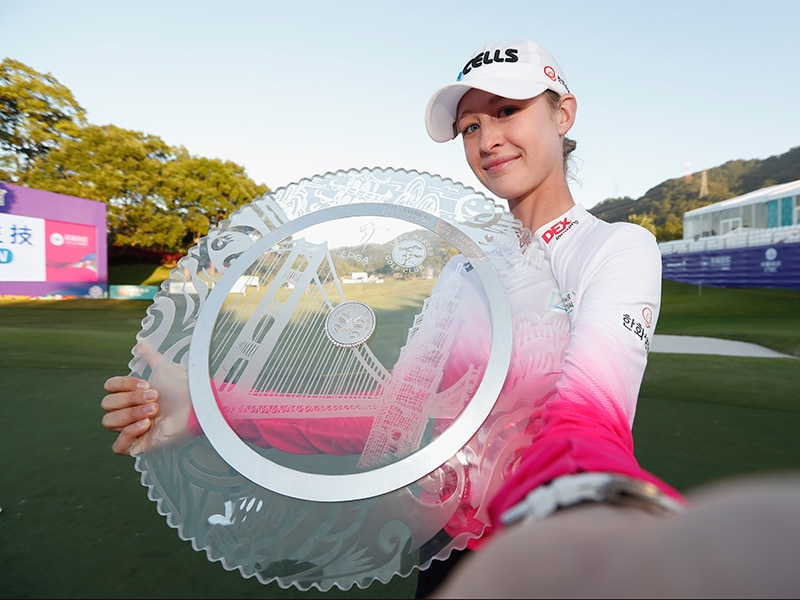 Swinging Skirts LPGA Taiwan Championship: Nelly Korda