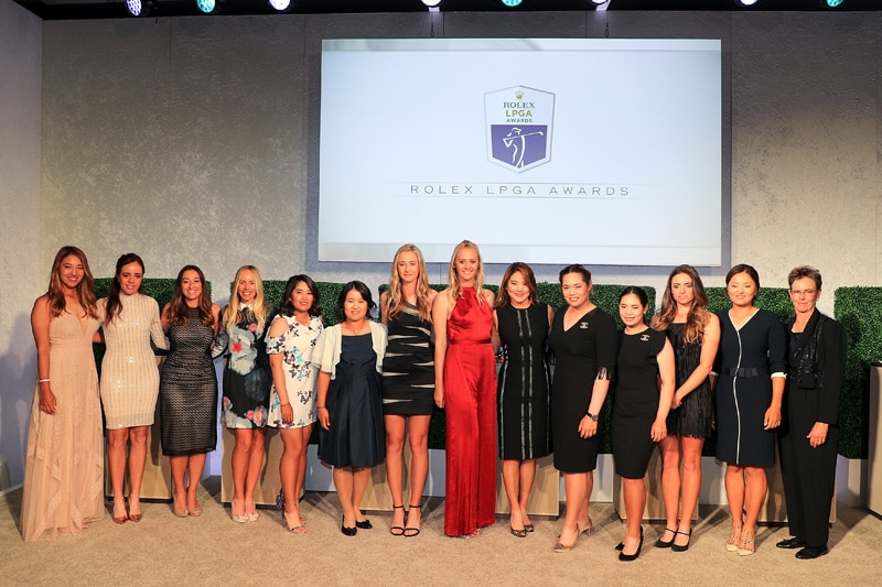 LPGA Rolex Award winners
