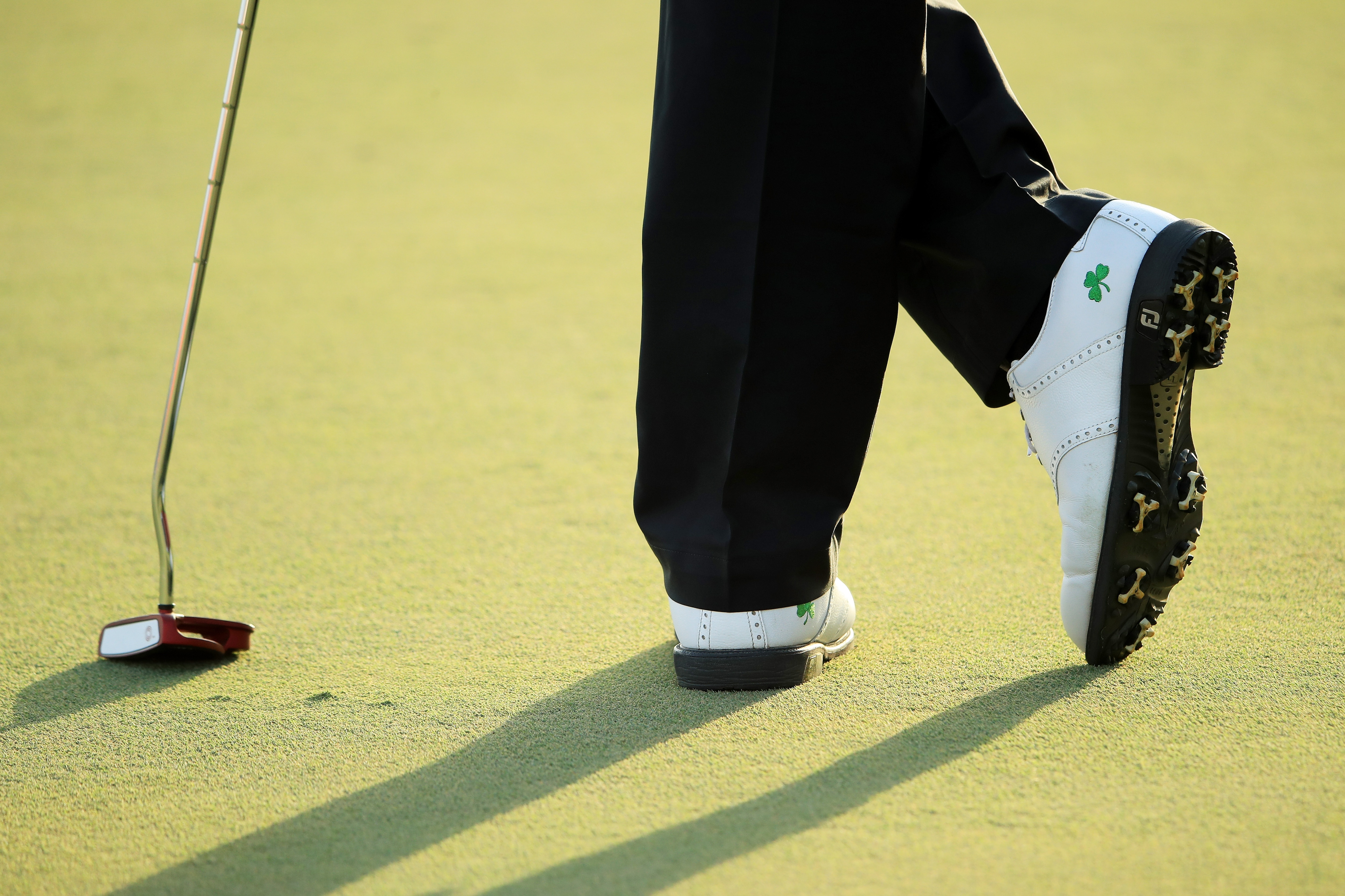 Shane Lowry's shoes
