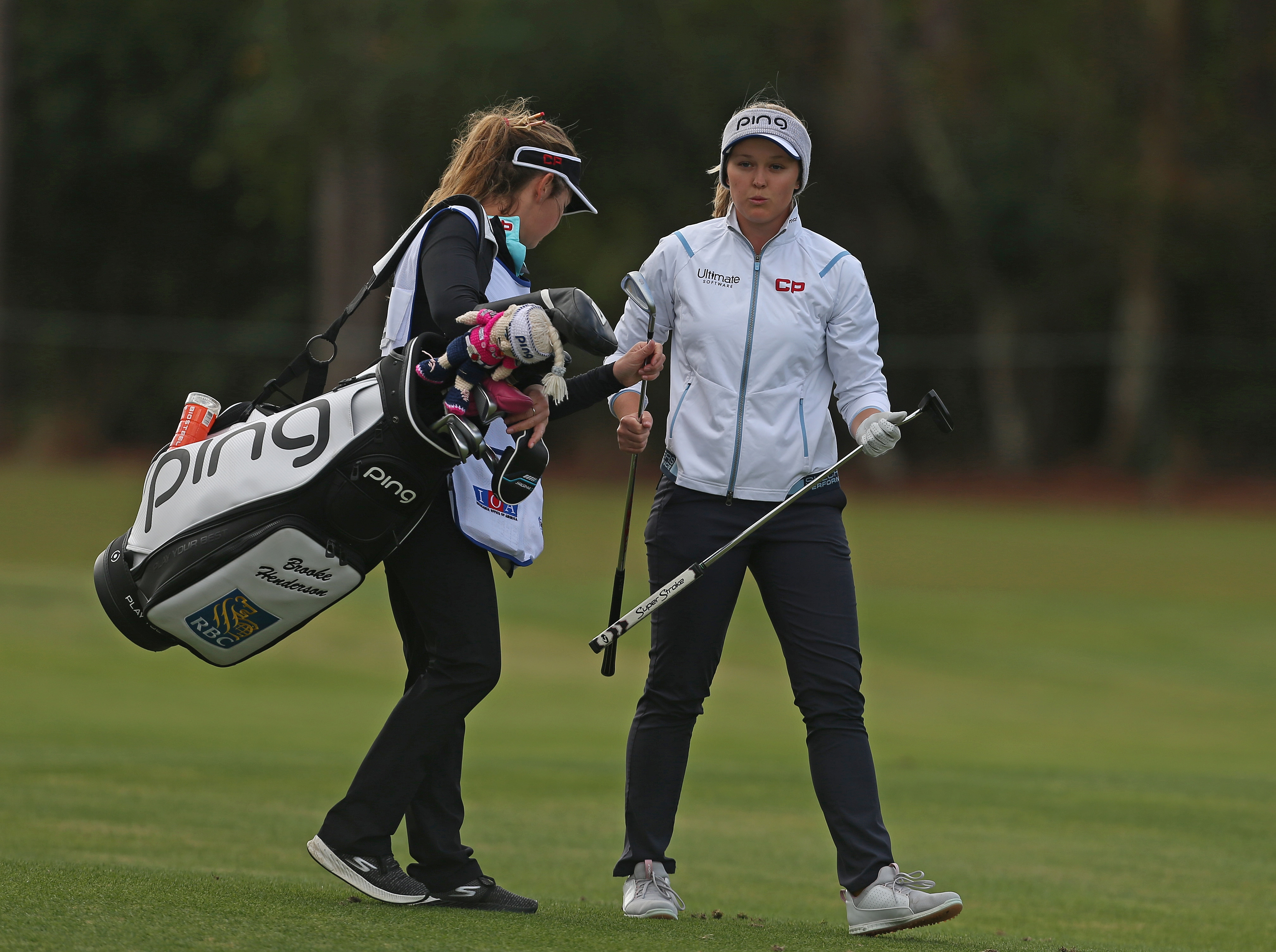 Brittany Henderson and Brooke Henderson