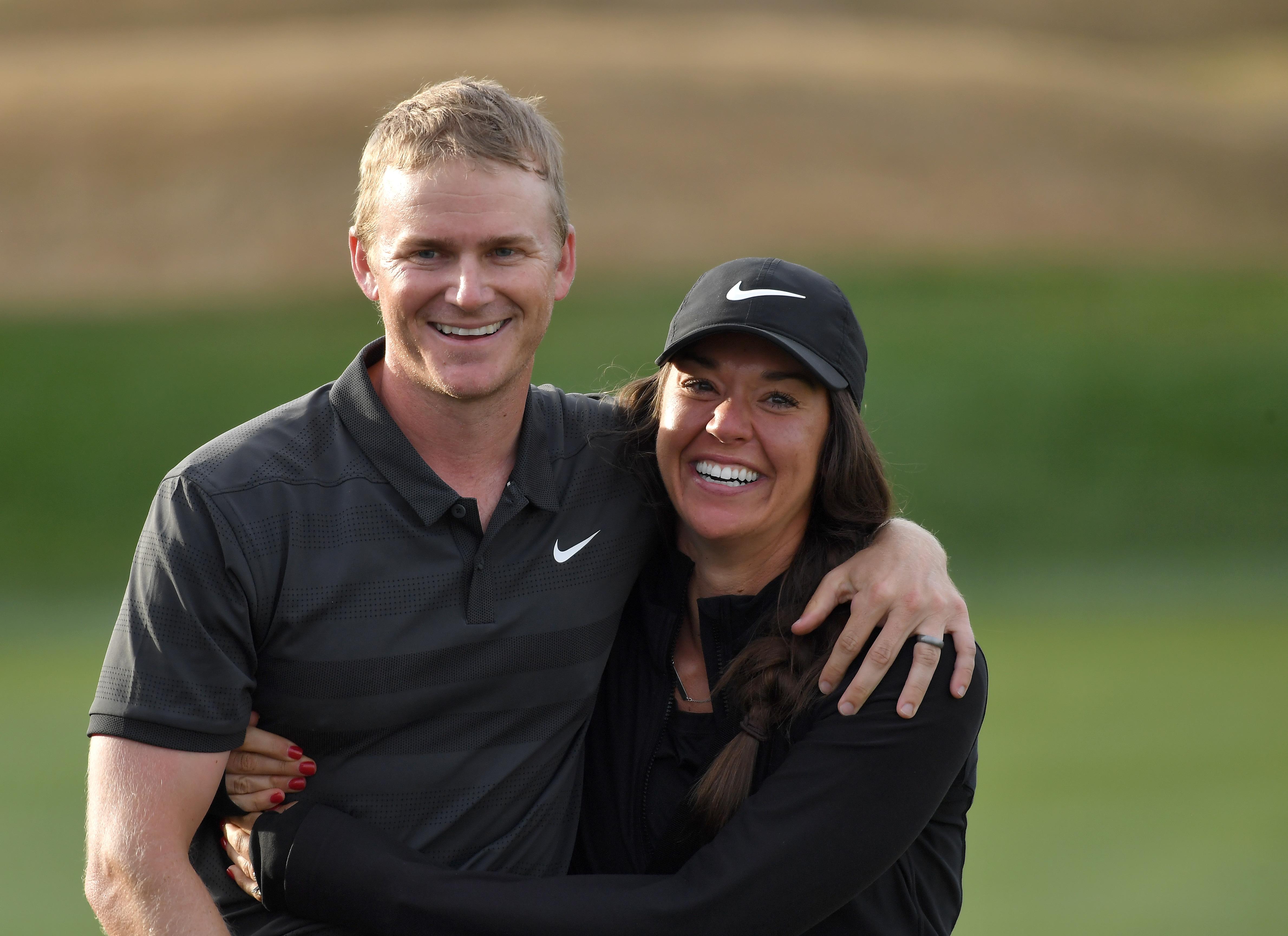 Adam Long and wife, Emily Long