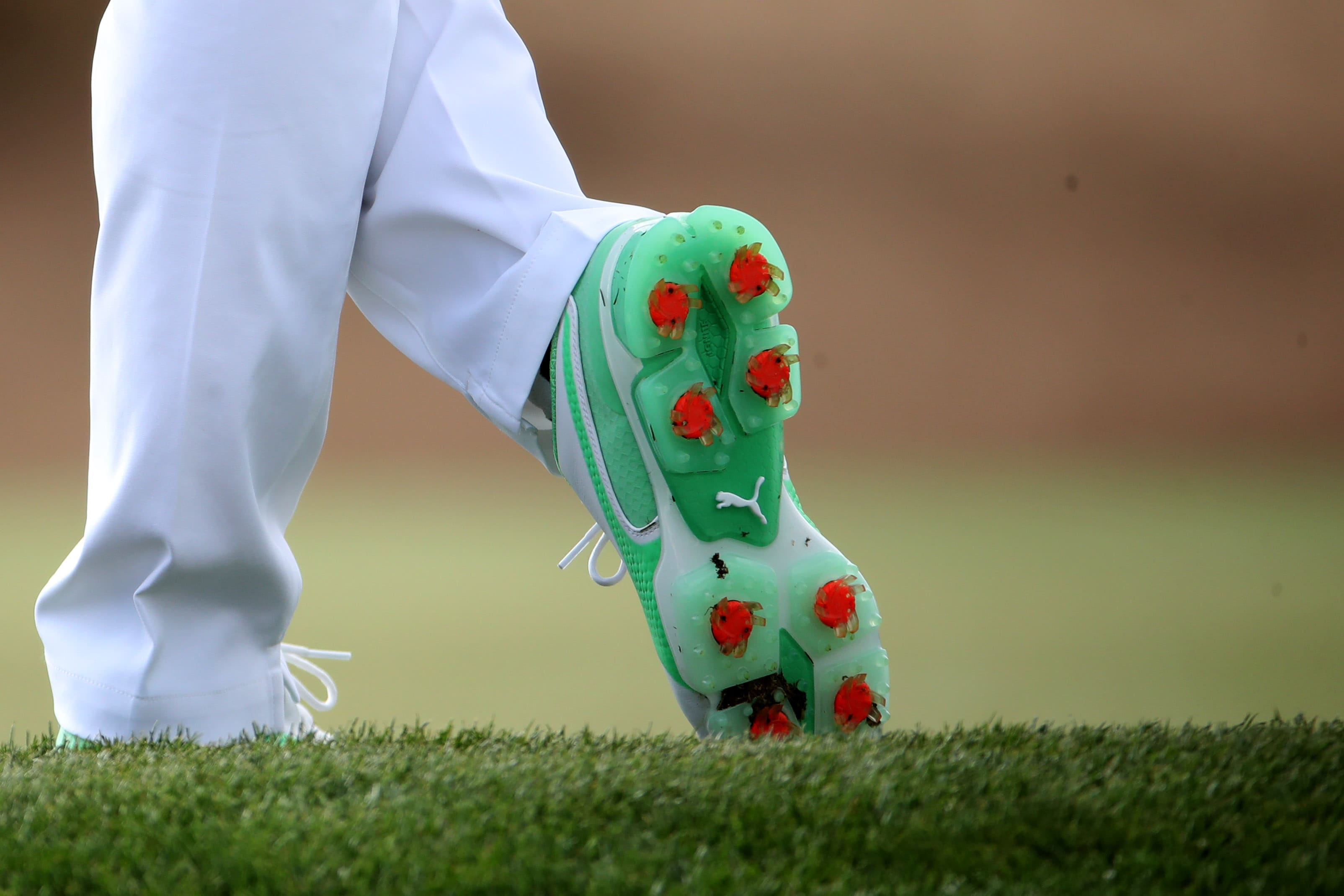 Rickie Fowler's shoes