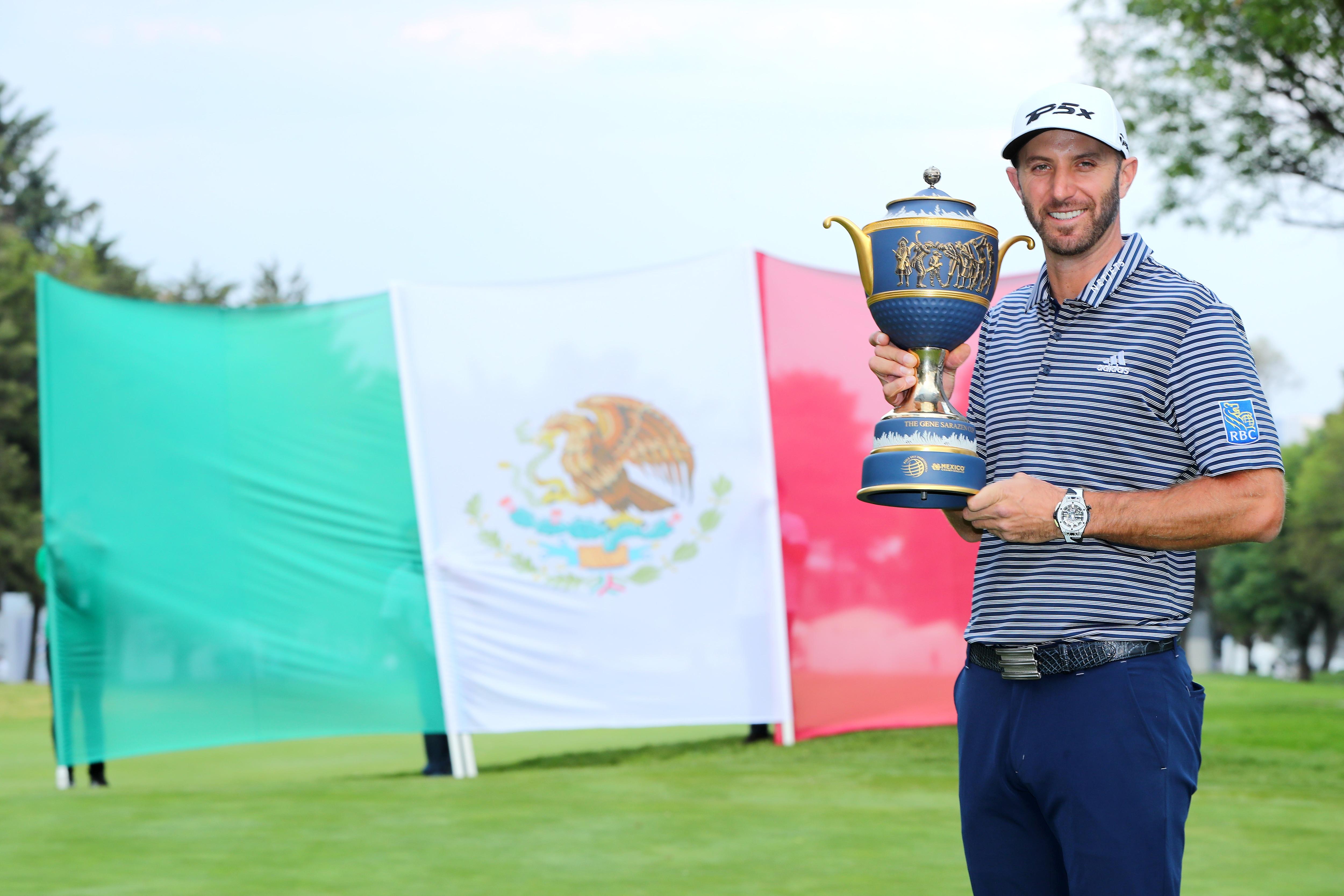 WGC-Mexico Championship: Dustin Johnson