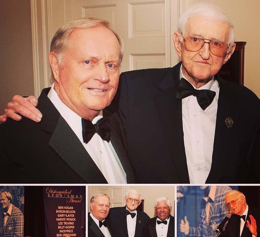 Jack Nicklaus and Dan Jenkins