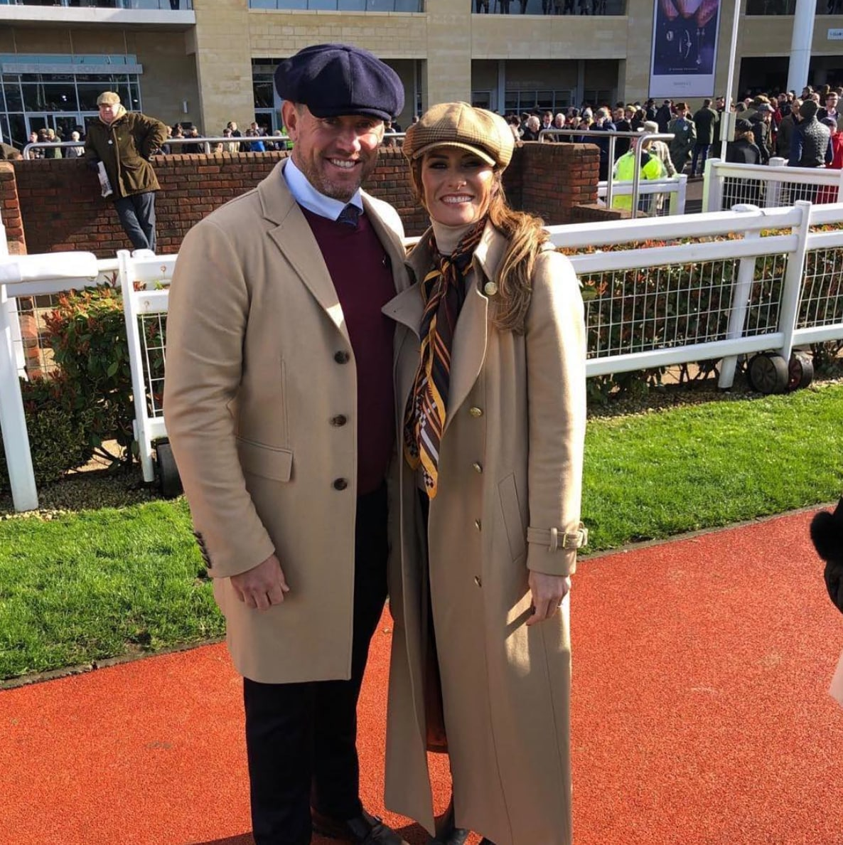 Lee Westwood and Helen Storey