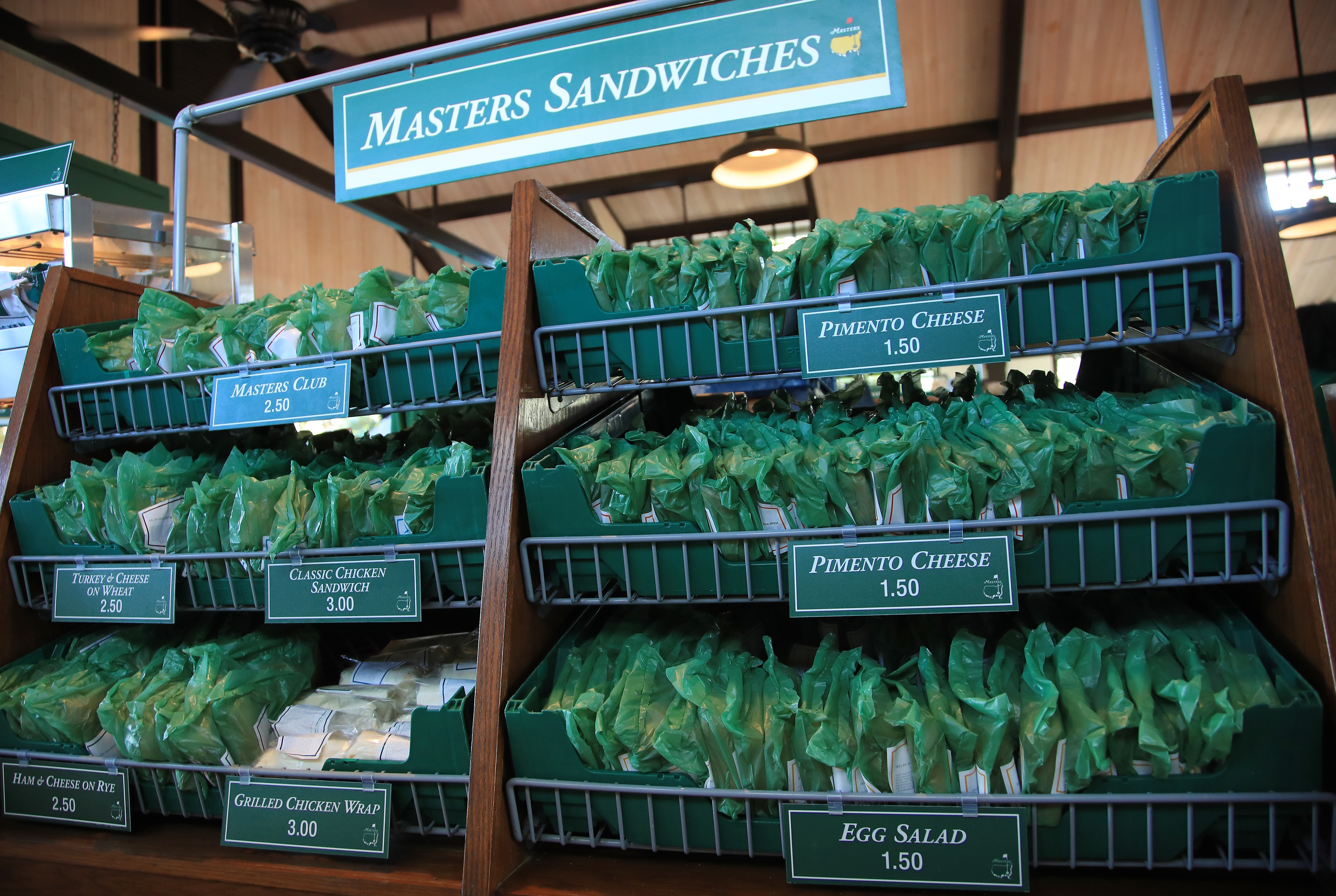 Masters sandwiches