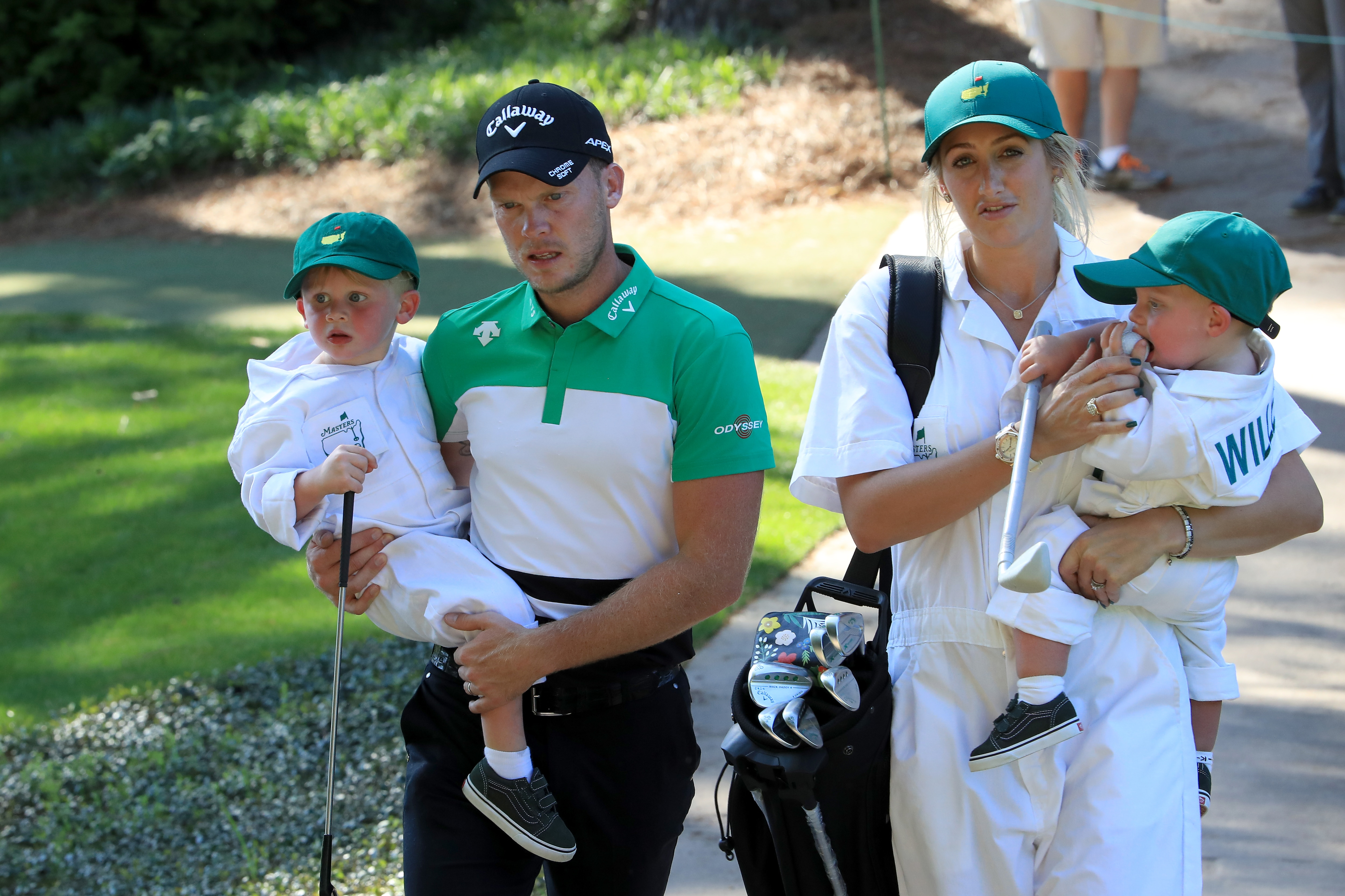 Danny and Nicole Willett with their children
