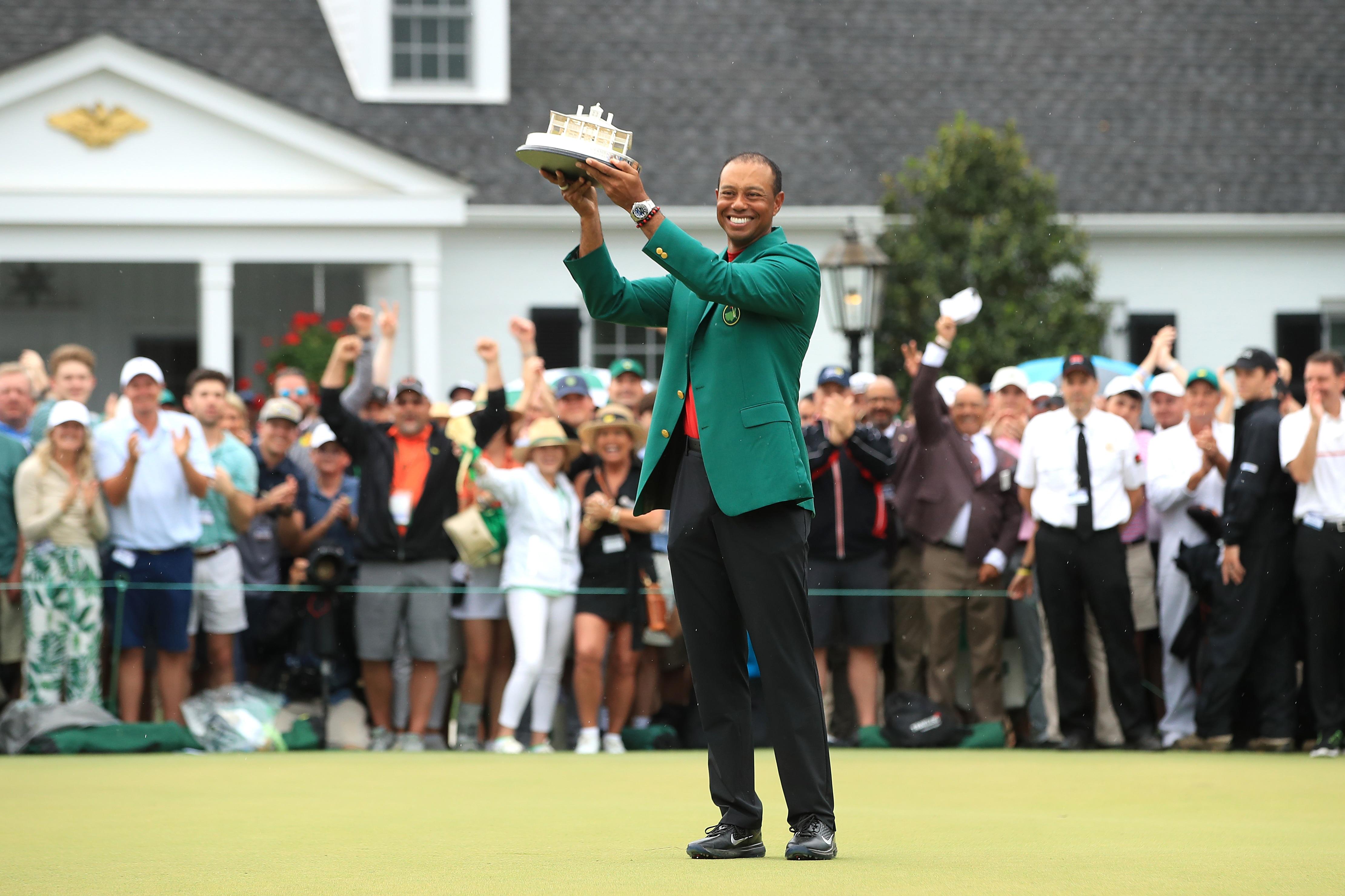 2019 Masters, Win