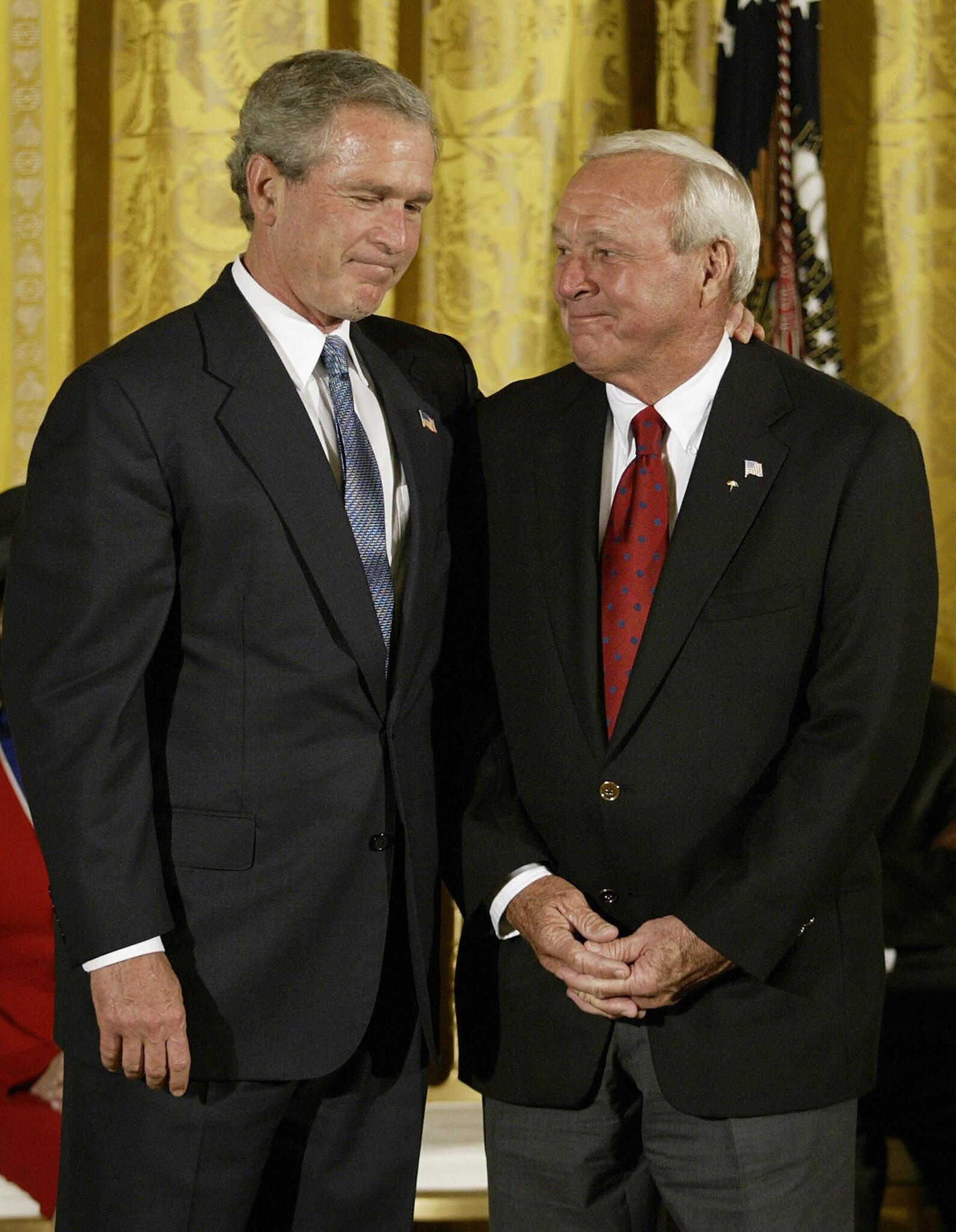 George W. Bush, Arnold Palmer