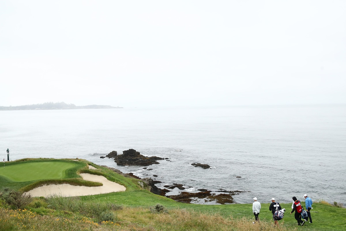 Par-3 seventh at Pebble Beach